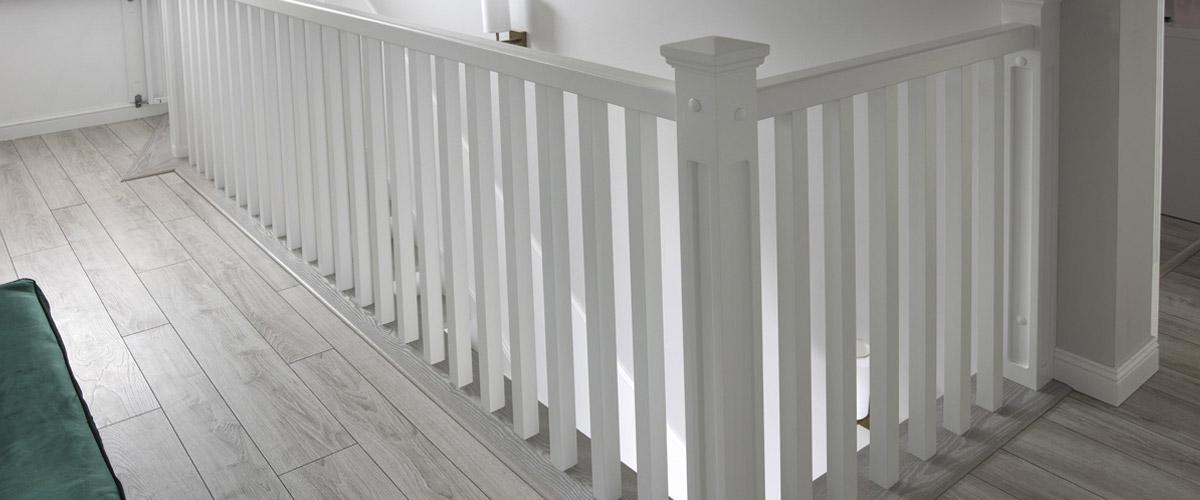 Balustrada drewniana - Producent schodów drewnianych - Warszawa